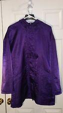 LUNDSTROM Purple LAPARKA CANADA Rain Coat Hood Zip Unique Clasps EUC MSRP $645