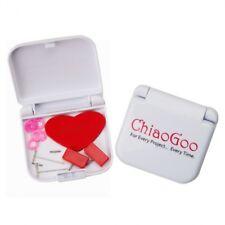 ChiaoGoo Mini Zubehör Set stricken Stricknadeln austauschbare Nadelspitzen