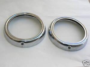 Mercedes HeadLight Rings headlamp 190 d c 110 230s 300 230 s W110 1108200089 200