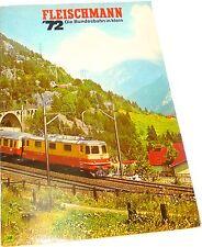 Fleischmann catalogo 1972 Å *