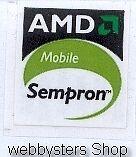 AMD Sempron mobile Case Sticker Aufkleber