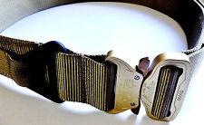 Med Tan Tactical Military Assault Gear Cobra Buckle Riggers Belt