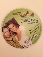 Brothers And Sisters - Season 1- Disc 2 ( DVD) DVD Disc Only - Replacement Disc