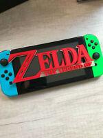 Legend of Zelda Video Game Logo Sign Decoration ~7.5in (videogame decor)