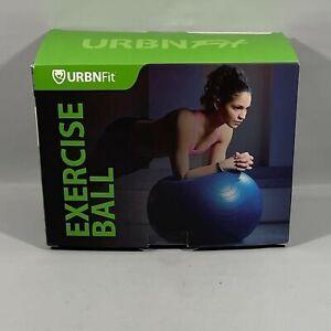 URBNFit Exercise Fitness Ball Blue 65cm