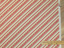 Plaid for the Holidays Diagonal Christmas Fabric by the 1/2 Yard  #82520