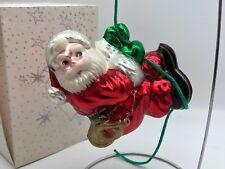 Komozja Verre ⭐️⭐️Décorations pour Arbre de Noël Santa 15 cm ⭐️⭐️ Neuf