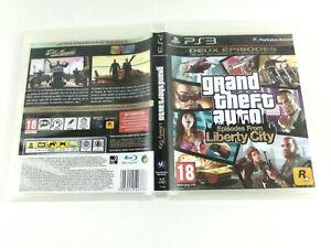 Playstation 3 PS3 VF  BOITE VIDE PAS DE JEU GTA Liberty City  Envoi rapide suivi