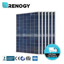 Renogy 6 Pcs of 300W Watts 24V Polycrystalline 1800W Solar Panel Off/On Grid