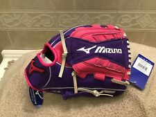"Mizuno GPP 1005F1D 10"" Youth Girl's  Softball Glove Right Hand Throw"