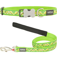 Red Dingo  Collar / Lead | Dog / Puppy | Sizes XS - Small - Med - LG