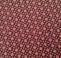 Bordeaux and Sienna BTY Paula Barnes Marcus Brothers Civil War Brown Floral