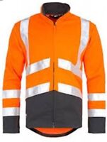 NEW Helly Hansen Workwear Alta Jacket Men's Warning Jacket Orange 76196-269