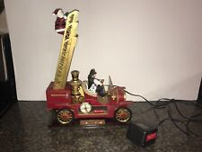 Mr. Christmas Gold Label Collection America's Bravest Animated Fire Engine