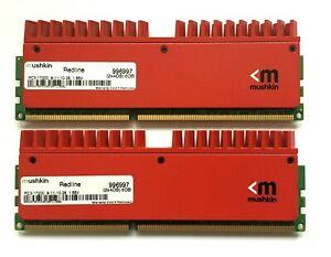 8GB (2 X 4GB STICKS - MATCHED SET) MUSHKIN REDLINE DDR3-2133 / PC3-11700 RAM