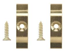 2 X Turnbutton De Bronce 38mm X 10mm tornillos incluidos Conejo Hutch vuelta Botón