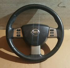 2004 2005 2006 2007 2008 Nissan Maxima Steering Wheel In Black 48430ZK00C