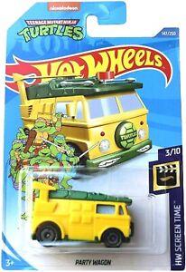 Hot Wheels Teenage Mutant Ninja Turtles PARTY WAGON #147