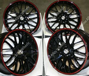 "17"" Motion Alloy Wheels Fits Jaguar E F I Pace F S X Type XE XF XJ XK 5x108"