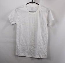 Vtg 80s Jockey Mens Small Short Sleeve Power Knit Undershirt T Shirt White