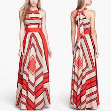 Summer Boho Long Maxi Dress Evening Cocktail Party Beach Dresses Sundress 5t XL
