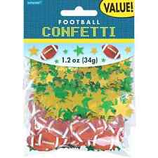 Football Sports Banquet Birthday Party Decoration Value Pack Printed Confetti