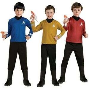 Star Trek Costumes Kids Halloween Fancy Dress