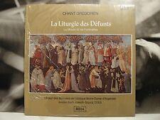 CHANT GREGORIEN - LA LITURGIE DES DEFUNTS - DOM JOSEPH GAJARD LP SEALED DECCA