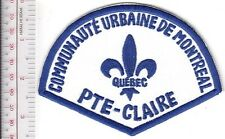 Montreal Police Department Communaute Urbaine Pointe-Claire Station Retired Patc