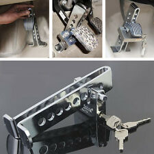 Car Chrome 8 Hole Anti-theft Device Clutch Brake Stainless Strong Security Lock