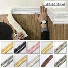 3D Self Adhesive Door Border Wall Sticker Foam Panel Waterproof Decor Wallpapers