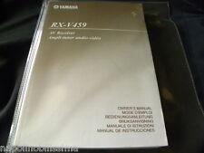 Yamaha RX-V459 des Besitzers Manuell operating Anleitung neu