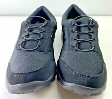 Champion Womens Athletic Sneakers Shoes Size 9.5 W Memory Foam Slip On ALL BLACK