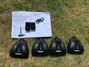 Set of NEW Thule 460R   foot packs, Locks optional,