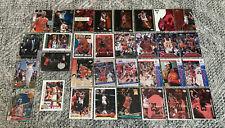 32 Michael Jordan 1990's Insert and common Chicago Bulls bulk card lot