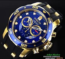 Invicta Men's Pro Diver Collection Chronograph Blue Dial Luxury Watch