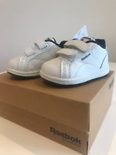 Reebok Baby Shoes UK 1.5 Infant Brand new with tags and box White