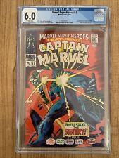 Marvel Super-Heroes #13 CGC 6.0 1st Carol Danvers Captain Marvel Avengers (002)