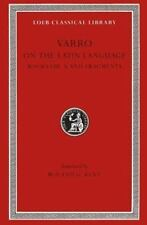 Varro: On the Latin Language, Volume II, Books 8-10. Fragments. (Loeb Classical