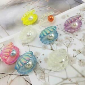 Mixed Color Flatback Resin Heart Cabochons DIY Craft V4V0