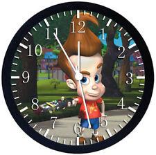 Jimmy Neutron Boy Genius Black Frame Wall Clock Nice For Decor or Gifts F83