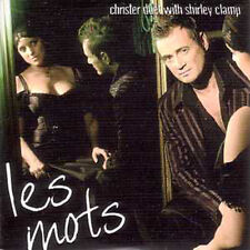 CD SINGLE Christer Björkman & Shirley Clamp Mylène Farmer Les mots Eurovision N