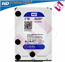 "WESTERN DIGITAL 2 TB 3.5"" SATA 3 BLUE WD20EZRZ DISCO DURO INTERNO 2000GB WD"