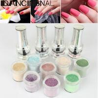 8Pcs/Set Dipping Powder Tool Kit without Cure Dip Powder Nail Natural Dry Beauty