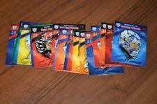 2011-12 Sereal (no Panini) KHL Masks Goaltender full set 18 cards.