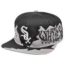 MLB Chicago White Sox Vintage Old School Snapback Flat Bill Hat Cap Dead Stock