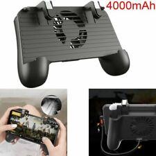 4000mAh Gamepad Controller Handle Grip Smart Phone Holder Cooling Fan for PUBG