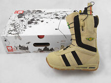 NEW $200 Burton Ruler Snowboard Boots!  US 6, UK 5, Mondo 24, Euro 38  TAN
