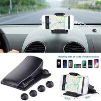 Universal Car Phone Mount Holder Alligator Clip Cradle Desk Stand for Phone GPS