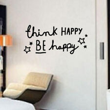 Home Bedroom Stickers Quotes Wall Sticker Living Room Decal Stickers SH